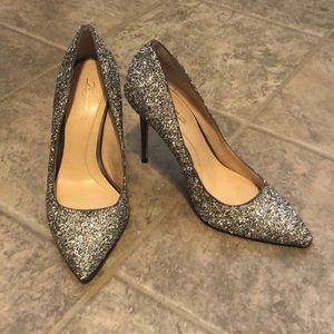 Vince Canute glitter heels